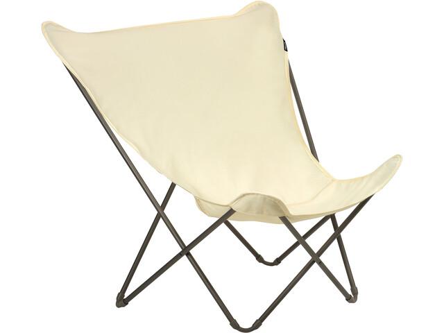 Lafuma Mobilier Pop Up XL Silla plegable Airlon + Uni, ecru